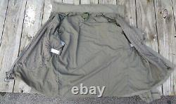 Patagonia Alpha Grey Medium Regular Soft Shell Level 5 Combat Jacket L5 PCU P-8