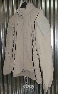 Patagonia Alpha Grey Medium Regular Soft Shell Level 5 Combat Jacket L5 PCU Q1
