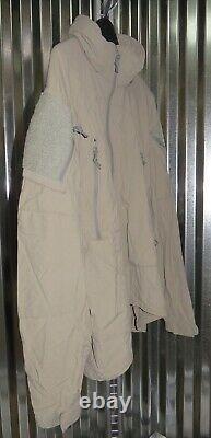 Patagonia Alpha Grey Medium Regular Soft Shell Level 5 Combat Jacket L5 PCU Q2