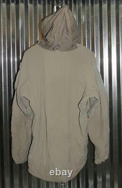 Patagonia Alpha Grey Medium Regular Soft Shell Level 5 Combat Jacket L5 PCU Q3