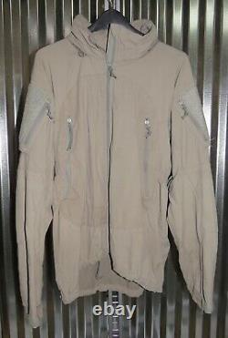 Patagonia Alpha Grey Medium Regular Soft Shell Level 5 Combat Jacket L5 PCU Q5