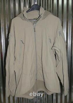 Patagonia Alpha Grey Medium Regular Soft Shell Level 5 Combat Jacket PCU SOCOM