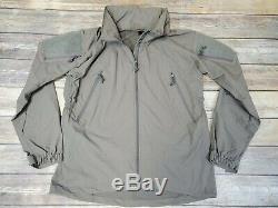 Patagonia Level 5 Soft Shell PCU Jacket Alpha Green size Medium Regular SOF
