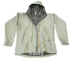 Patagonia Level 6 Alpha GREEN Medium Rain Combat Jacket L6 PCU Hard Shell