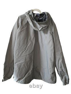 Patagonia Level 6 PCU Gore-Tex Waterproof Jacket Parka Alpha Green Medium Long