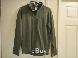 Patagonia MARS R1 Fleece Military Jacket MEDIUM Alpha Green NEW Tactical Mens