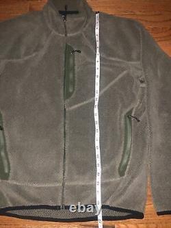 Patagonia MARS R2 Grid Fleece Jacket Alpha Green Polartec SEAL CAG Medium