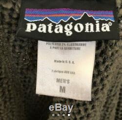 Patagonia MARS R2 Grid Fleece Jacket Mens Medium Alpha Green Polartec SEAL CAG