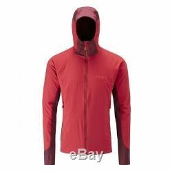 RAB Alpha Flux Jacket Cayenne Red Size Medium RRP £140