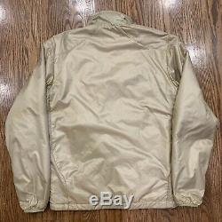RARE Patagonia Level Polartec Military Issued Jacket Mens Medium Alpha Tan