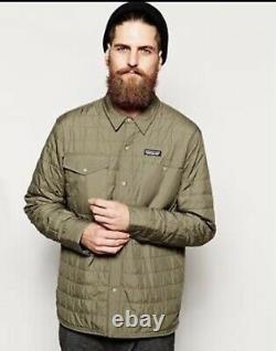 RARE Patagonia Nano Puff Gratio Jacket Mens Medium Alpha Green