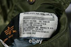 TOP GUN Paramount official ALPHA MA-1 limited edition of 5000 Flight jacket GOOD