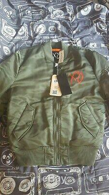 The Weeknd Limited Edition Pop Up Stargirl Bomber Jacket womens side Medium