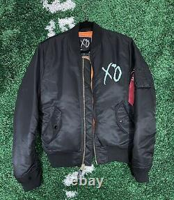 The Weeknd XO Alpha Industries Bomber Size M