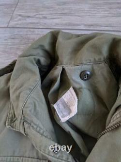 Usmc 1970s vintage M65 vietnam ALPHA INDUSTRIES field jacket MEDIUM REGULAR