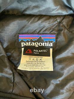 VERY RARE! PATAGONIA MARS LEVEL 3A ALPHA POLARTEC JACKET / BLAC- Mens Medium