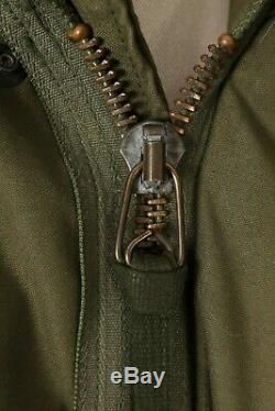 VTG 70s ALPHA INDUSTRIES M-65 Military Field Coat Jacket USA Mens Medium