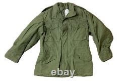 VTG Alpha Industries Mens M-65 OG 107 Field Coat Jacket Size Medium