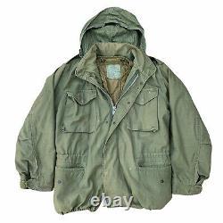 VTG Alpha Industries US Army Military M65 Cold Weather Field Jacket OG107 LINER