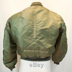 Vietnam Era USAF MA-1 Flying Man's Jacket 1963 Medium Alpha Industries Vtg