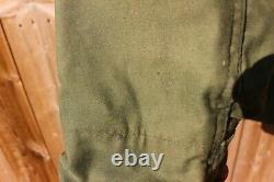 Vintage 1980 US Navy M-65 Field Jacket Alpha Industries Medium Regular USA Mens