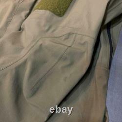 Vintage ARC'TERYX LEAF GEN1 ALPHA JACKET GORE-TEX Size M Beige good condition