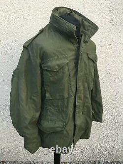Vintage Alpha Industries U. S Military M-65 Field Coat Jacket Medium 41 Chest