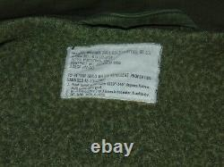 Vtg Military Issued Jacket Intermediate Cold Weather Og-107 Alpha Ind. Large