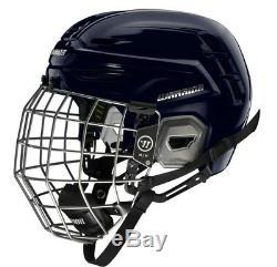 Warrior Alpha ONE PRO Combo Helm mit Gitter Profi Eishockeyhelm schwarz incl Cap