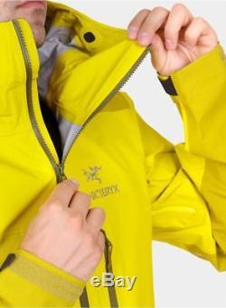 2019 Arcteryx Alpha Ar Veste Medium Lichen Jaune Gore-tex Pro Sv Lt Bêta
