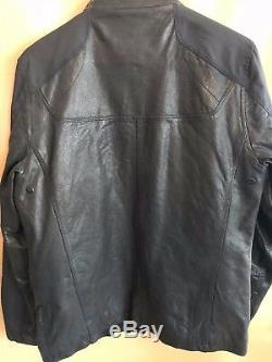 # 268 Tumi Alpha Cuir Et Contreportes Polyester Veste Taille S Pdsf 1195 $