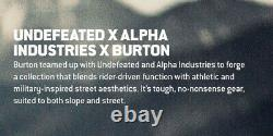 350 $ Burton Invaincu Alpha Industries M-65 Trench Jacket Black Dryride M L