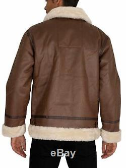 Alpha Industries B3 Homme Flight Jacket, Brown