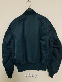Alpha Industries Blouson Bombardier Teal Taille M