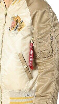 Alpha Industries Bomber Souvenier Jacket Medium Neuf Avec Étiquettes