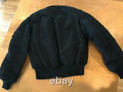 Alpha Industries Brand New Classic Ma1 Veste Noire Pour Homme Size Medium