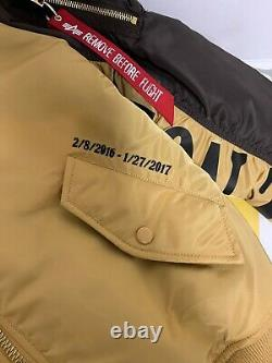 Alpha Industries Chinese New Year Limited Ed. Année Du Singe Sz M Slim Fit