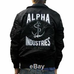 Alpha Industries Cwu 36p Mod Triton, Slimfit, Blouson Aviateur De Vol Moyen