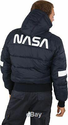 Alpha Industries Fd Nasa Hooded Jacket Puffer