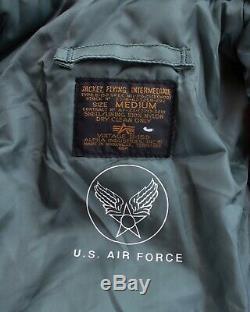 Alpha Industries, Inc B-15d Flying Jacket Intermédiaire