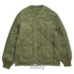 Alpha Industries M65 Manteau Terrain Avec Doublure Noire, Olive, Woodland Camo Veste M65