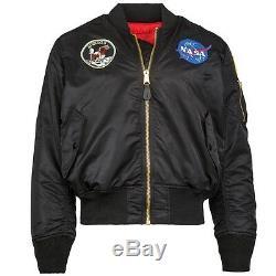 Alpha Industries Ma1 Apollo Flight Jacket Nylon Ma1 Mjm21097c1