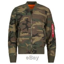 Alpha Industries Ma1 Ctn Vol Jacket / Bomber Olive Drab Mjm47505c1 Ma1