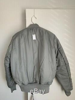 Alpha Industries Ma-1 Sang Chit Transport Réversible Vol Jacket Taille M Tn-o