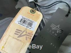 Alpha Industries Ma-1 Slim Fit Bomber Jacket M Réversible Tonal Noir Camo