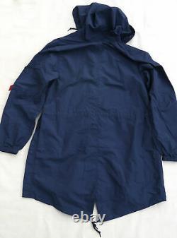 Alpha Industries Shell Fishtail Parka Men Jacket Bleu Mjs49000c1 Moyen