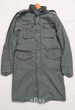 Alpha Industries Veste De Survêtement Quartermaster M65 Veste Longue Capuche Olive Medium