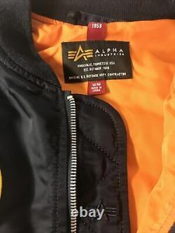 Alpha Industries Veste De Vol Légère L-2b Nasa Nylon Mjl47020c1
