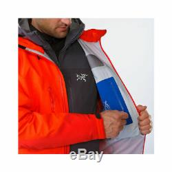 Arc'teryx Alpha Ar Jacket Men, Gore-tex Pro Magma Red, Taille M, 580 Rrp