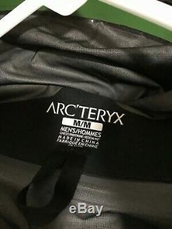 Arc'teryx Alpha Comp Veste, Vert, Mens Moyenne, Hybride Gore-tex